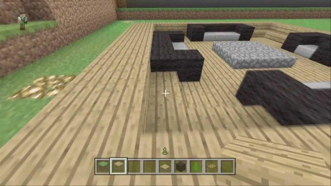 DECORACIONES# Ep. 4 La Sala Minecraft xbox 360 - YouTube