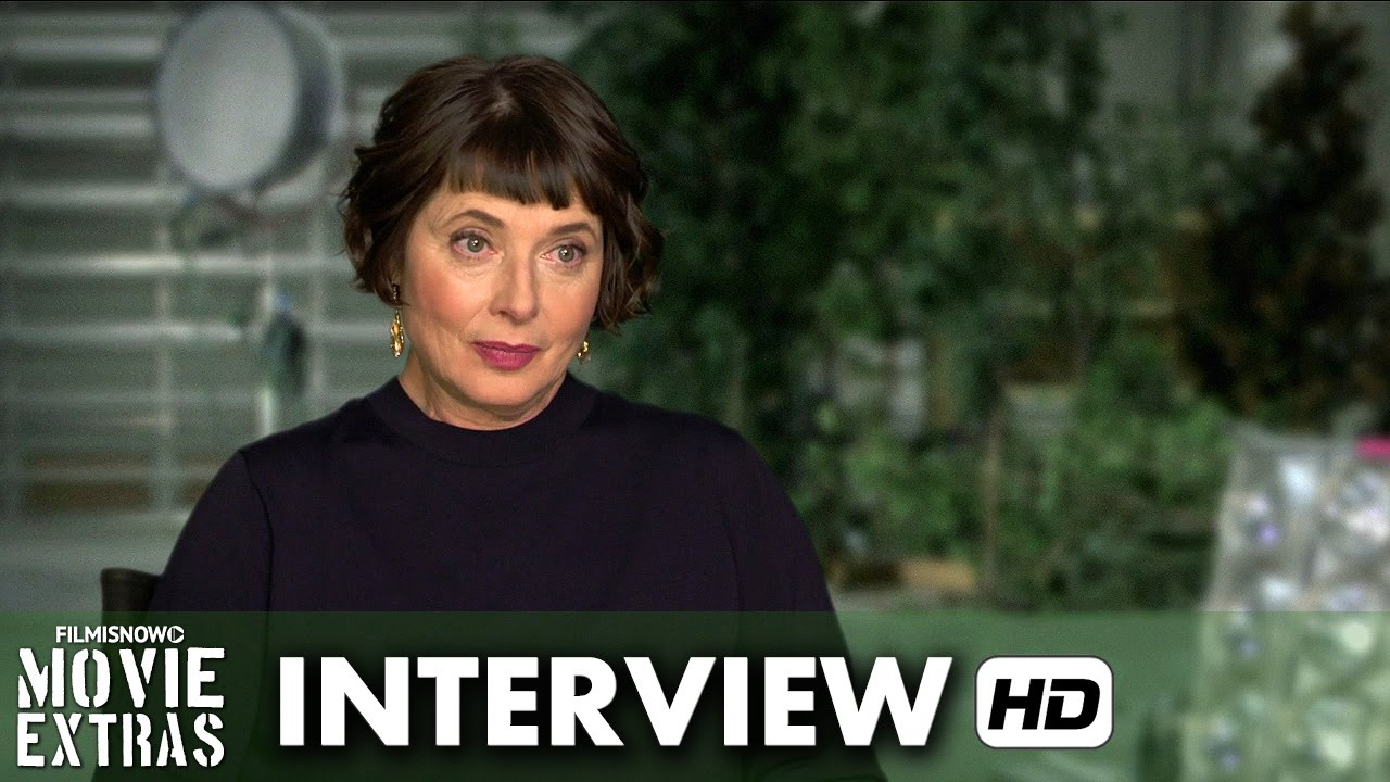 Joy (2015) Behind the Scenes Movie Interview - Isabella Rossellini is 'Trudy'