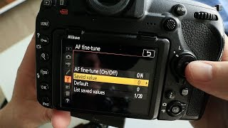 Nikon AF Fine Tune -  Easiest and Best Way I've Found
