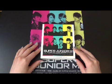 Unboxing Super Junior-M 2nd Mini Album Perfection (Version B)