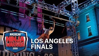 Josh Levin Dominates The 2016 Los Angeles Finals | American Ninja Warrior