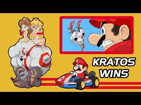 Random Videojueguil #22 - Animación Mario Kart - KRATOS WINS (subtitulado en español)