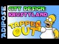 Simpsons Tapped out-Krustyland-City Design