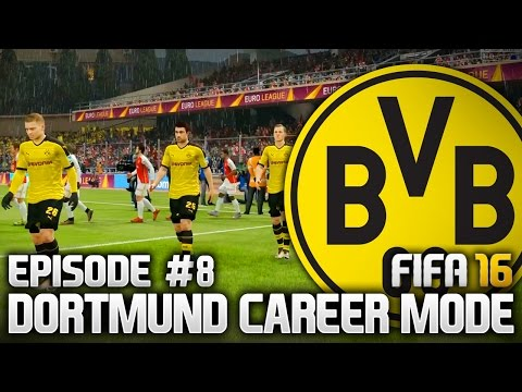 VITAL AWAY GOALS?! DORTMUND CAREER MODE - EPISODE #8 (FIFA 16)