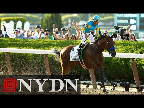 American Pharoah Wins Belmont Stakes to Become First Triple Crown Winner Since Affirmed in 1978
