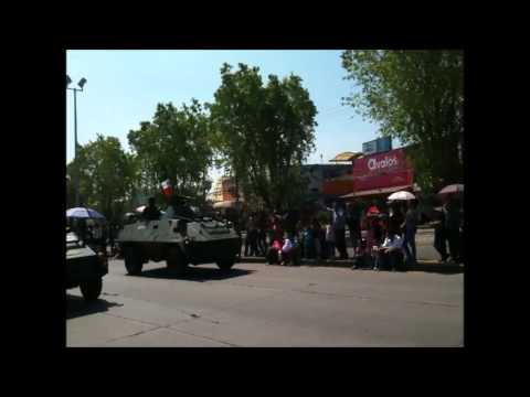 Desfile conmemorativo a los 100 años de las batallas de celaya