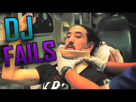 TOP 10 DJ FAILS | LOS MOMENTOS MAS VERGONZOSOS DE DJ FAMOSOS