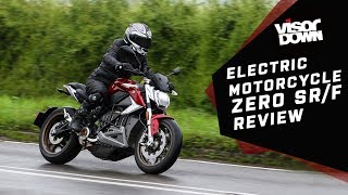 Electric motorcycle - Zero SR/F Review