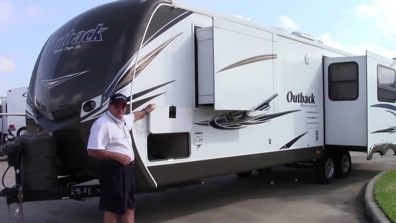 New 2014 Keystone Outlook 316rl Rear Living Travel Trailer