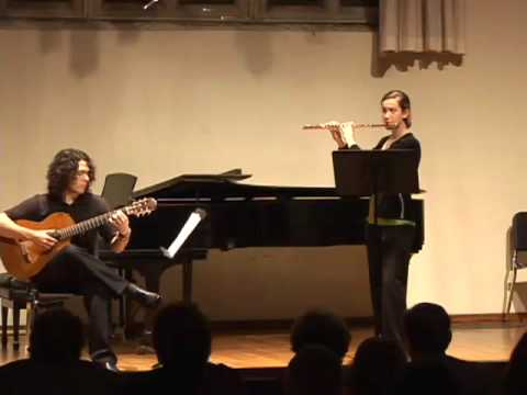 University of Richmond Ensembles: Patrick Burns and Katie Moyer Video