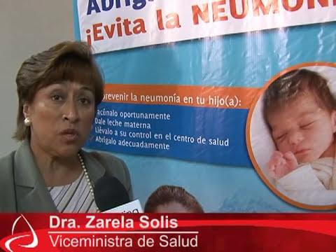 Cómo prevenir la neumonía en los niños