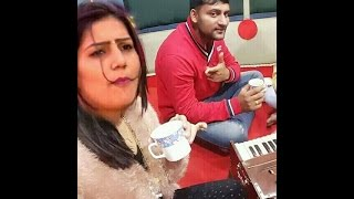 Sapna Haryanvi Dancer with her BoyFriend 2016