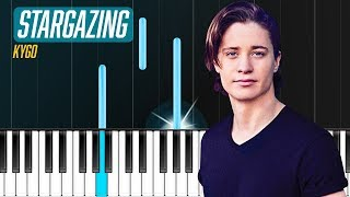 """Download Lagu Kygo - """"Stargazing"""" ft. Justin Jesso  Piano Tutorial - Chords - How To Play - Cover Gratis STAFABAND"""