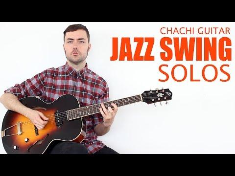 Jazz Swing Solos - Cromatismos + Chord Tones - Guitarra Jazz