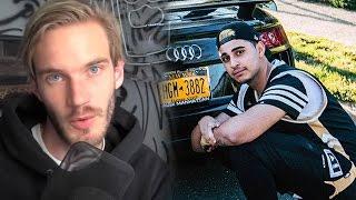 """PewDiePie Deletes His """"Channel"""", FaZe Rain"""