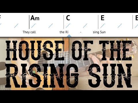 House Of The Rising Sun - Easy Guitar Lesson | The Animals - Basic ...