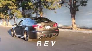 Lexus ISF: Hayward & Scott Exhaust Rev & Fly-By