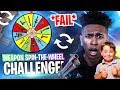 *FAIL* FORTNITE SPIN-THE-WHEEL WEAPON CHALLENGE w Joey! Fortnite Battle Royale