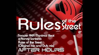 [OFFICIAL] Rules of the Street by Afterhours Recordings ((Buy this Ep in Beatport)