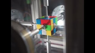 rubik's cube solved in 0.38 seconds...