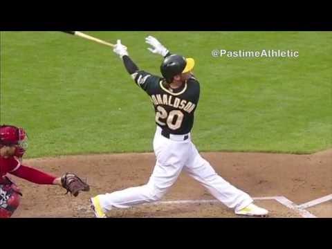Josh Donaldson Slow Motion Home Run Baseball Swing Hitting Mechanics Zepp Labs Tips Analysis