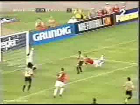 08-08-2001 Wis�a Kraków - FC Barcelona 4:3 (bramka na 1:0 Grzegorza Patera)