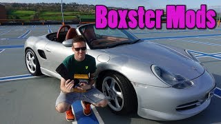 9 Free Cheap & Easy Mods for the 986 Porsche Boxster vlog