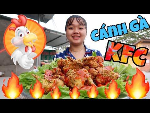 Mâm Cánh Gà Rán KFC Khổng Lồ