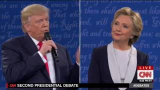Trump Says Clinton Will Be in Jail if He