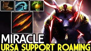 Miracle- [Ursa] Don't Try This Ursa Support Roaming Gameplay 7.21 Dota 2