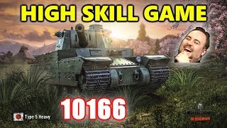 World of Tanks - Type 5 Heavy - 10K Damage 6 Kills - High Skill Game LUL
