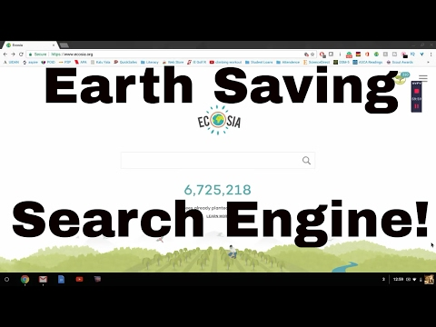 Best Search Engine? - Ecosia Review