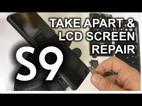 Samsung Galaxy S9 - How to Take Apart & Replace LCD Glass Screen