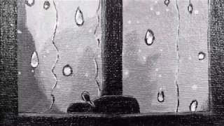 Rainy Window Painting I CraftyClue By Swatika