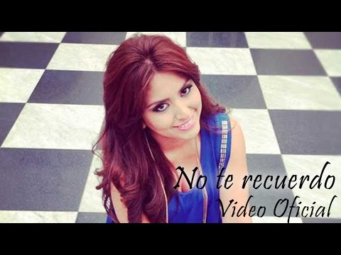 "Video Clip Oficial ""No te Recuerdo"" Nicole Pillman"