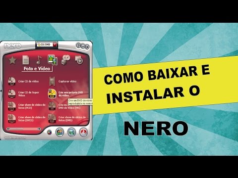 How to download and install the Nero