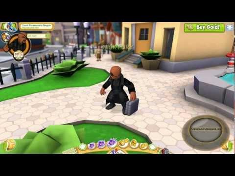 Marvel Super Hero Squad Online Avengers Nick Fury Gameplay- HD