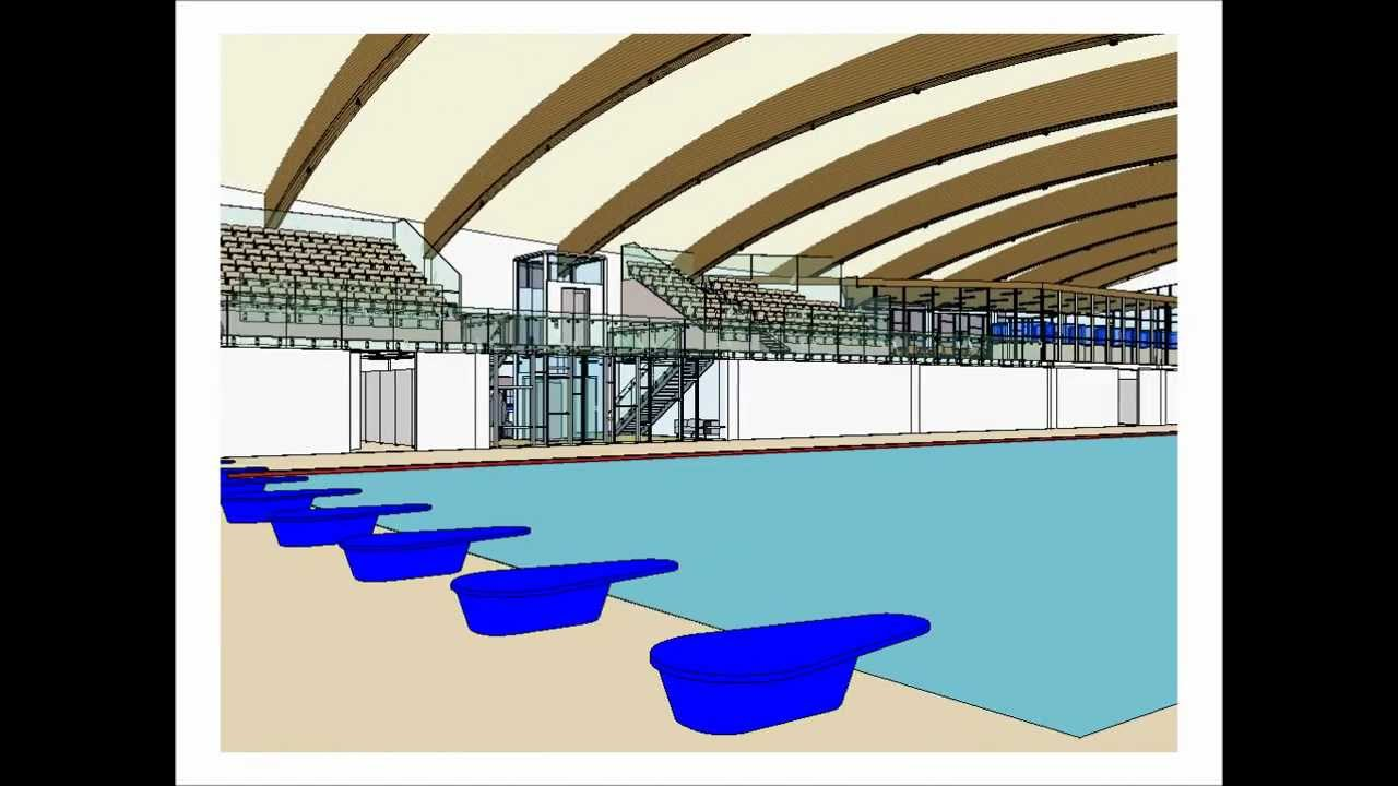 University of warwick civil engineering final year group design project youtube for University of warwick swimming pool