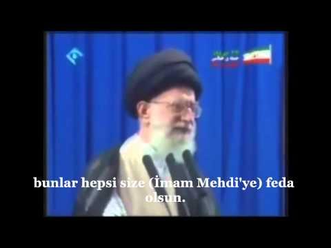 İmam Hamaney İmam Mehdi (a.f)'ye hitap ediyor