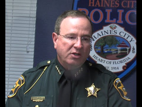 RAW VIDEO: Polk County Sheriff on Haines City manhunt of armed robbery...