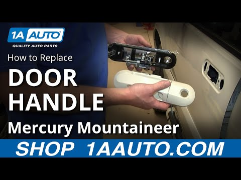 How To Install Front Outside Door Handle 2002-05 Ford Explorer Mercury Mountaineer