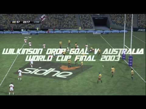 Rugby Challenge Remakes Wilkinson Drop Goal v Australia 2003 World Cup Final
