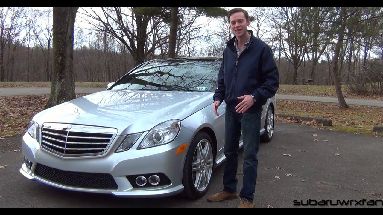 Review 2010 Mercedes Benz E350 4matic Youtube