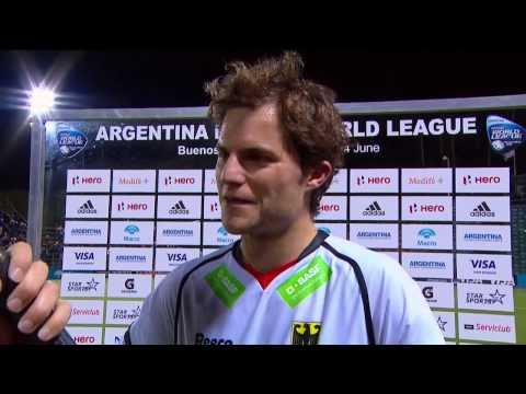 Post Match Interview Oscar Deecke