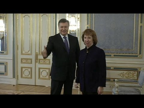 EU's Ashton demands more urgency from Ukraine politicians