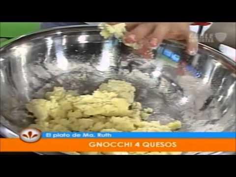 Gnocchi 4 Quesos por María Ruth