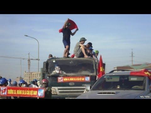 Anti-China protests spread across Vietnam - LIVE