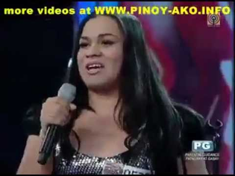 Pinoy Talent Show Shemale Rocks Boombastic. video