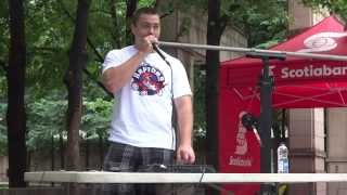 Scott Jackson BeatBox at BuskerFest Toronto 2013