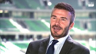 beIN SPORTS Exclusive: David Beckham talks Liverpool, Champions League and the World Cup